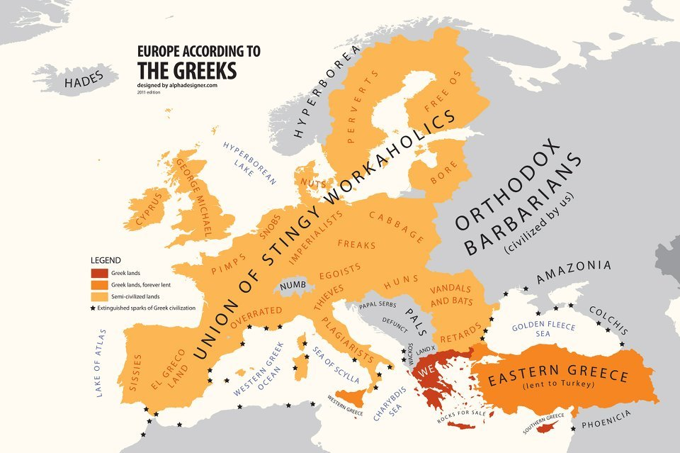 How greeks see the world monomakhos how greeks see the world gumiabroncs Images